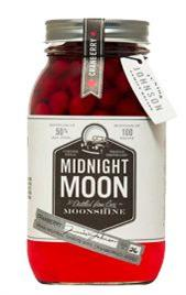 Midnight Moon Junior Johnson's Cranberry Moonshine...